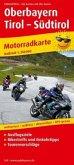 PublicPress Motorradkarte Oberbayern - Tirol - Südtirol