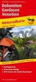 PublicPress Motorradkarte Dolomiten - Gardasee - Venetien