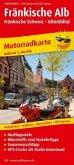 PublicPress Motorradkarte Fränkische Alb - Fränkische Schweiz, Altmühltal