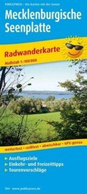 PublicPress Radwanderkarte Mecklenburgische See...