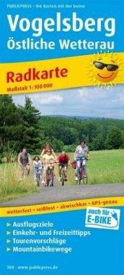 PublicPress Radwanderkarte Vogelsberg, Östliche Wetterau