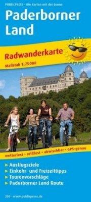 PublicPress Radwanderkarte Paderborner Land