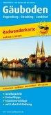 Regensburg - Straubing - Landshut. Radwanderkarte 1 : 100 000