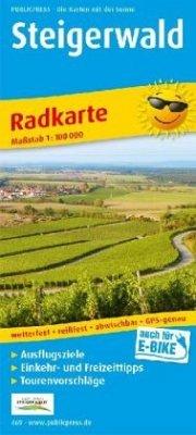 PublicPress Radwanderkarte Steigerwald