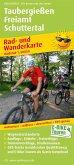 PublicPress Rad- und Wanderkarte Taubergießen - Freiamt - Schuttertal
