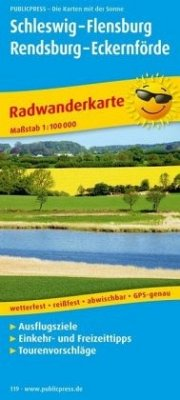 PublicPress Radwanderkarte Schleswig - Flensbur...