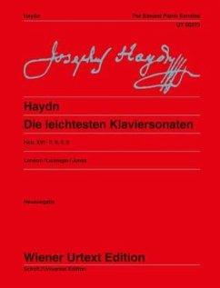 Die leichtesten Klaviersonaten Hob. XVI: op.7, 9, 4, 8 - Haydn, Joseph