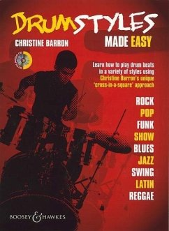 Drum Styles Made Easy, m. Audio-CD