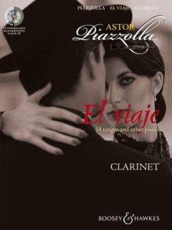 El viaje, für Klarinette und Klavier, m. Audio-CD