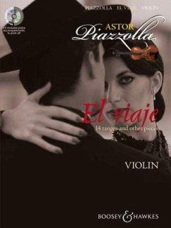 El viaje, für Violine und Klavier, m. Audio-CD