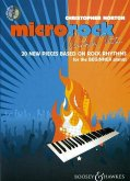 Microrock, for piano, w. Audio-CD