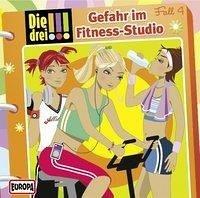 Gefahr im Fitness-Studio / Die drei Ausrufezeichen Bd.4 (1 Audio-CD)