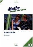 Mathe - Lernen und Lösen, Realschule Klasse 10, Lösungen