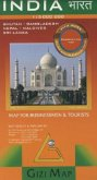 Gizi Map India, Geographical Map