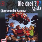 Chaos vor der Kamera / Die drei Fragezeichen-Kids Bd.4 (CD)