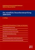 Die mündliche Steuerberaterprüfung 2009/2010