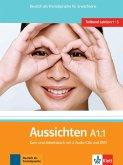 Aussichten. Teilband A1.1: Kurs- und Arbeitsbuch