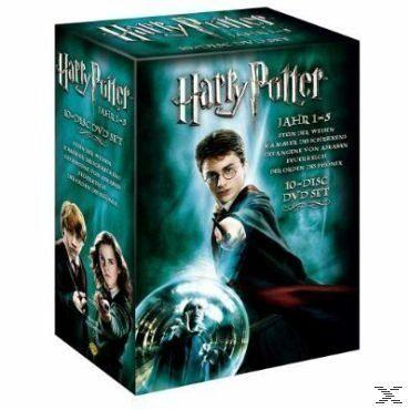 Harry Potter 1-5 Box Set auf DVD - Portofrei bei bücher.de