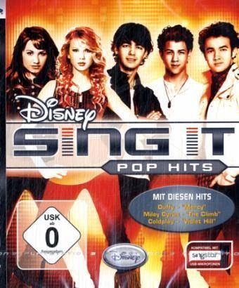 Disney Sing It: Pop Hits (PlayStation 3)