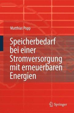 Speicherbedarf bei einer Stromversorgung mit erneuerbaren Energien - Popp, Matthias