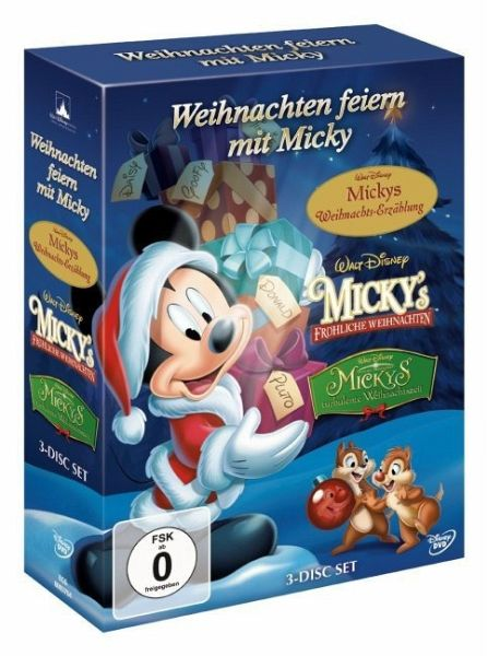 weihnachten feiern mit micky 3 dvds auf dvd portofrei. Black Bedroom Furniture Sets. Home Design Ideas