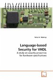 Language-based Security for VHDL