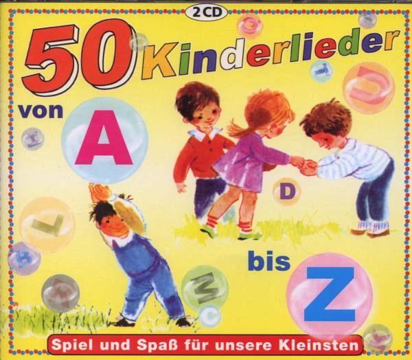 50 kinderlieder von a z von rundfunk kinderchor cd. Black Bedroom Furniture Sets. Home Design Ideas