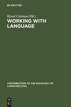Working with Language