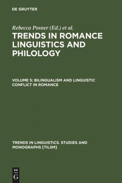 Bilingualism and Linguistic Conflict in Romance
