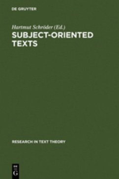 Subject-oriented Texts