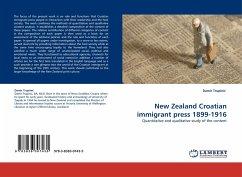 New Zealand Croatian immigrant press 1899-1916