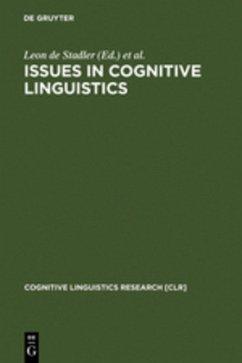 Issues in Cognitive Linguistics - Stadler, Leon de / Eyrich, Christoph (eds.)