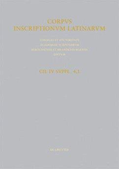 Corpus inscriptionum Latinarum. Pars quarta - Kruschwitz, Peter / Solin, Heikki / Weber, Volker (ed.). With Varone, Antonio