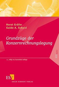 Grundzüge der Konzernrechnungslegung - Mit Fragen, Aufgaben und Lösungen - Gräfer, Horst; Scheld, Guido A.