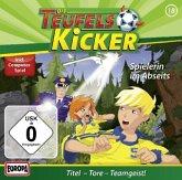 Spielerin im Abseits! / Teufelskicker Hörspiel Bd.18, 1 Audio-CD