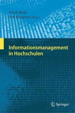 Informationsmanagement in Hochschulen