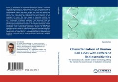 Characterization of Human Cell Lines with Different Radiosensitivities