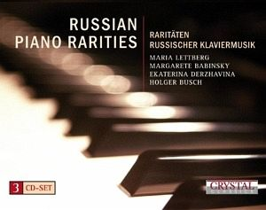 russian piano rarities von maria lettberg margarete. Black Bedroom Furniture Sets. Home Design Ideas