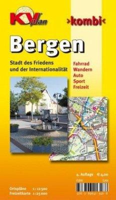 Bergen 1 : 12 500