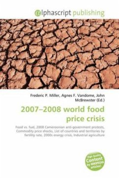 2007-2008 world food price crisis