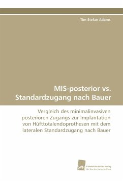 MIS-posterior vs. Standardzugang nach Bauer