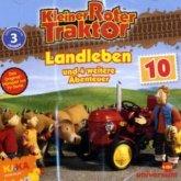 Kleiner Roter Traktor - Landleben und 4 weitere Abenteuer, 1 Audio-CD