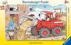 Ravensburger 06359 - Mein Bagger, 15 Teile Puzzle