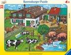 Ravensburger 06618 - Tierfamilien, 33 Teile Puzzle