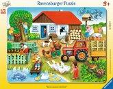 Ravensburger 06020 - Was gehört wohin? 15 Teile Rahmenpuzzle