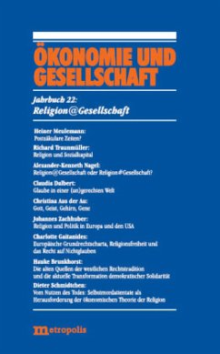 Jahrbuch Ökonomie und Gesellschaft 22/ Religion...