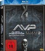 Alien vs. Predator & Aliens vs. Predator 2 - 2 Disc Bluray