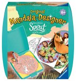 Ravensburger 29765 - Mandala Designer Mini, Spirit, Riding Free, Pferd
