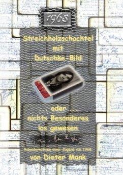 Streichholzschachtel mit Dutschke-Bild