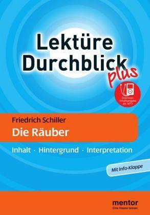 Friedrich Schiller 'Die Räuber', m. MP3-Download - Schiller, Friedrich von